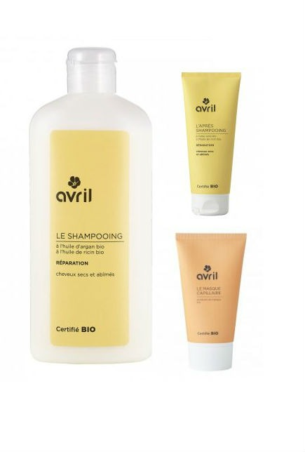 Plan Repare HairCare con champus sin sulfatos  Avril